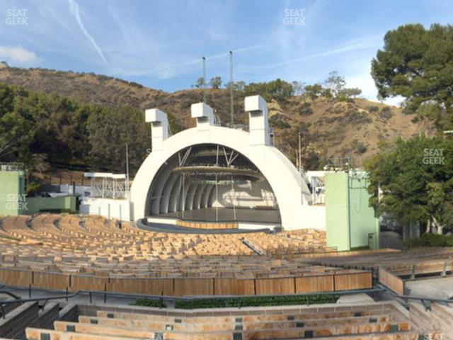 Hollywood Bowl Section F 2 view