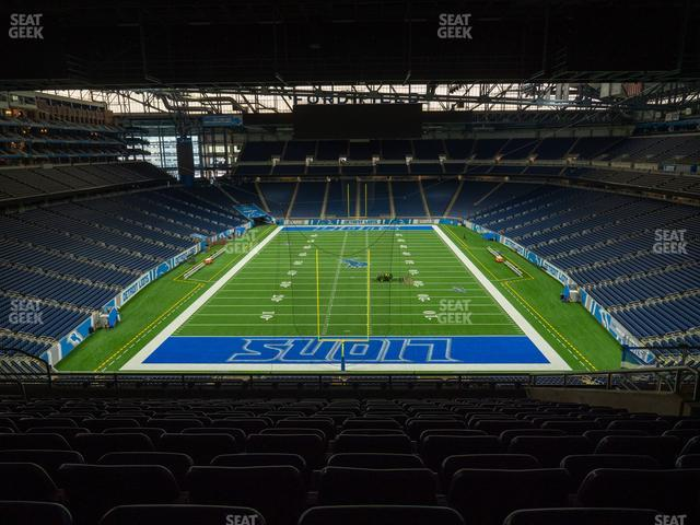 Ford Field Section 318 view