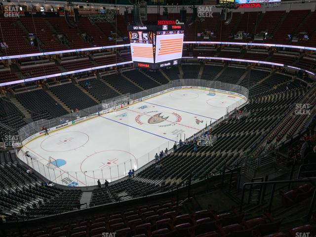 Honda Center Section 417 view