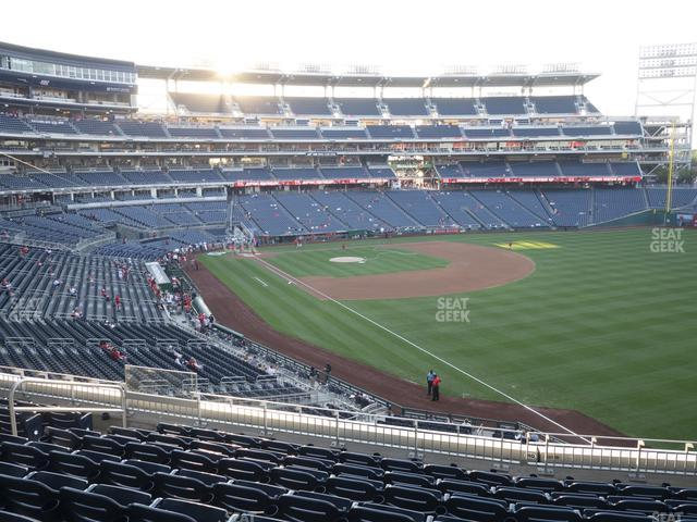 Nationals Park Section 231 view