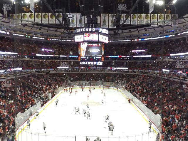 United Center Section 226 view