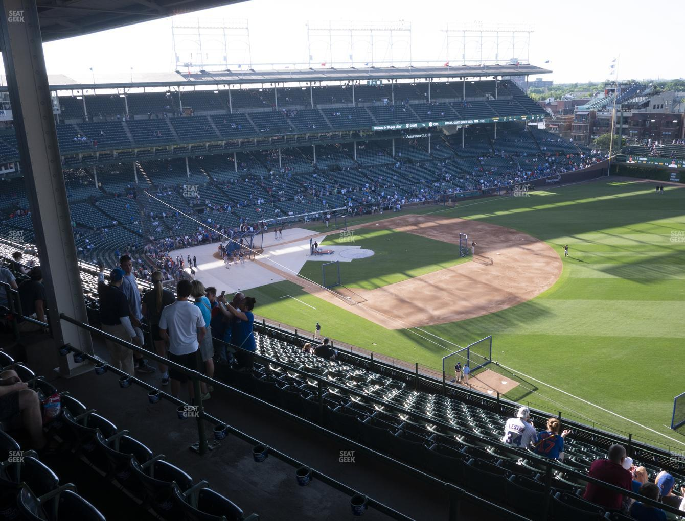 Chicago Cubs at Wrigley Field 429 Right View