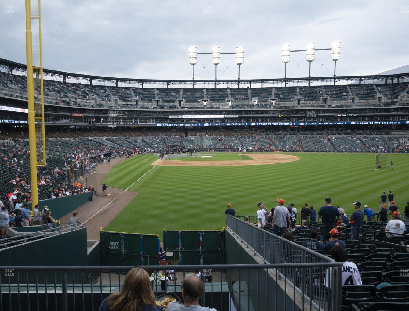 Detroit Tigers at Comerica Park Section 106 View
