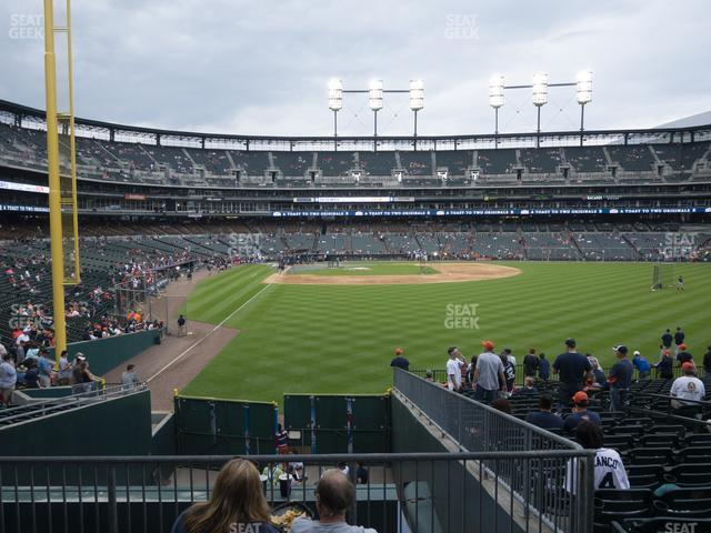 Comerica Park Section 106 view