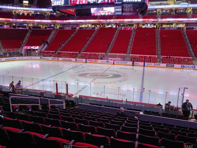 PNC Arena Section 103 view