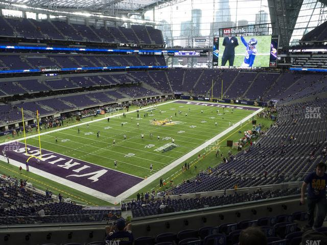 U.S. Bank Stadium Section 219 view