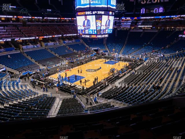 Amway Center Legends Suite A view