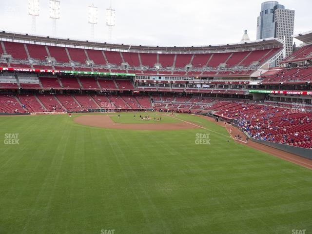 Great American Ball Park Section 403 view