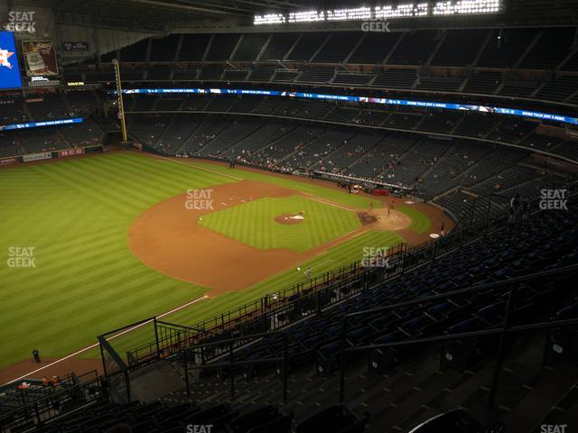 Minute Maid Park Section 409 view