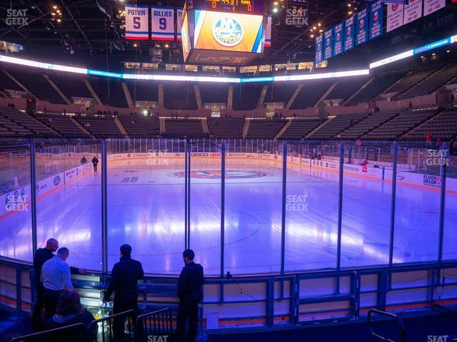 Nassau Veterans Memorial Coliseum Section 25 view