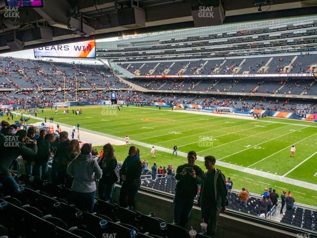 Soldier Field Section 231 view