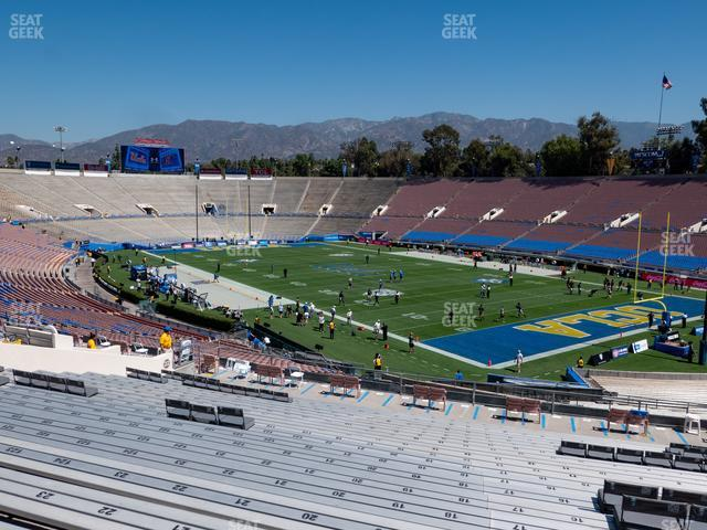 The Rose Bowl Upper 23 L view