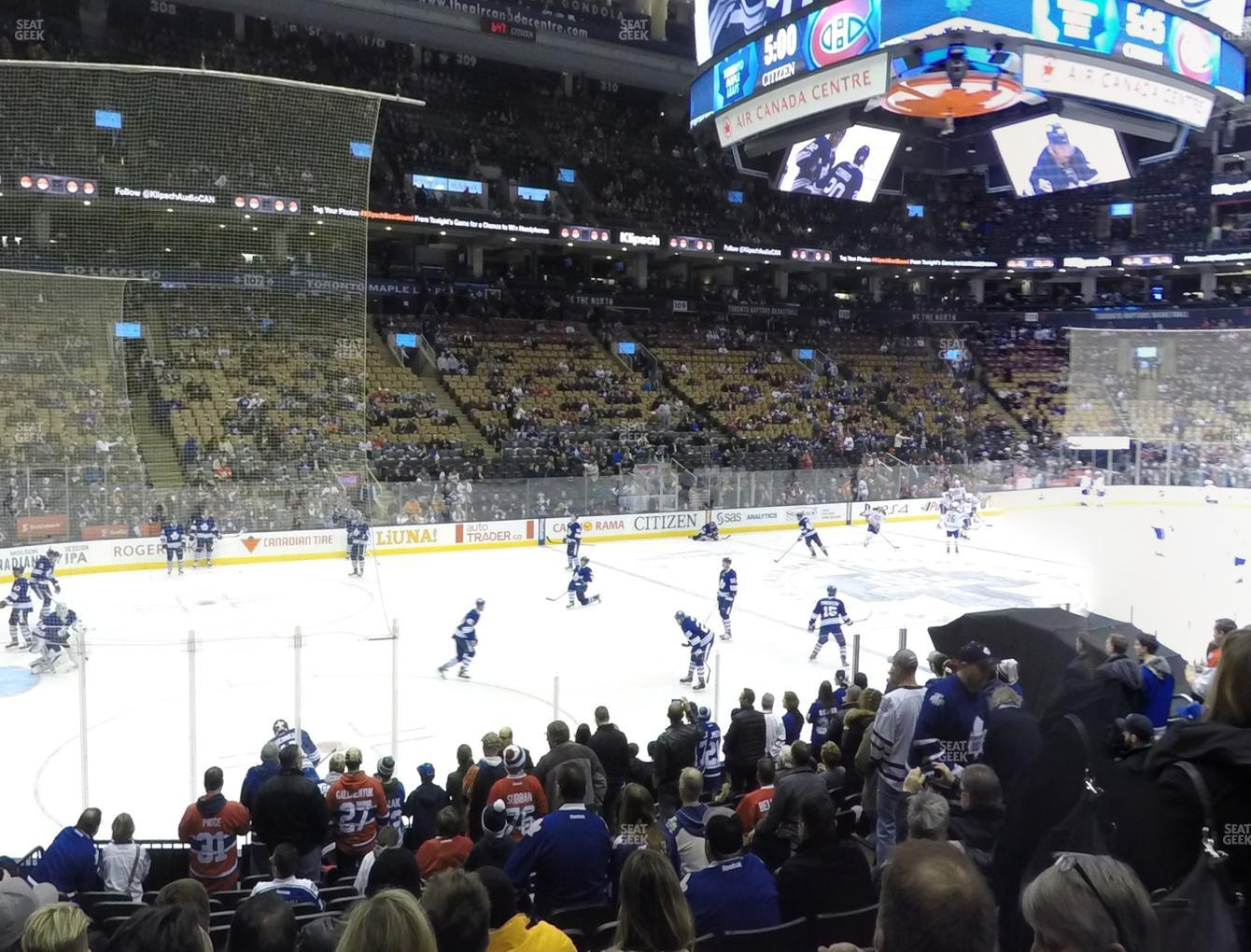 premium selection d7157 bb5d3 Scotiabank Arena Section 121 Seat Views   SeatGeek
