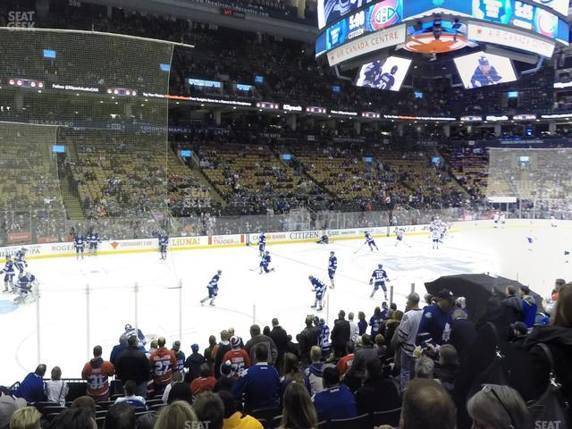 Scotiabank Arena Section 121 view