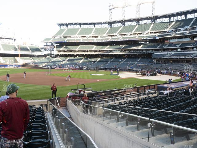 Citi Field Section 125 view