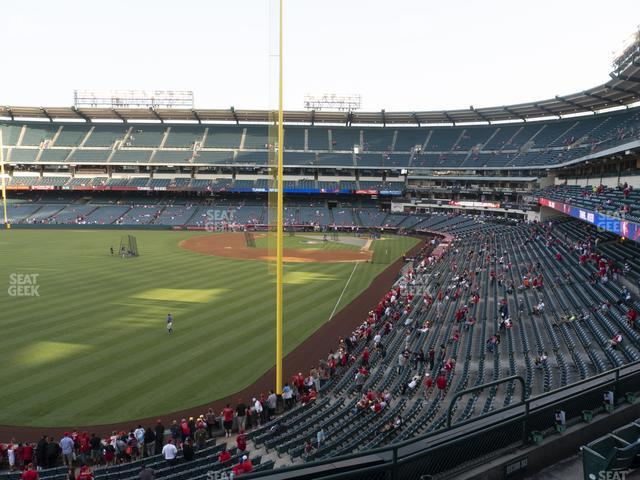 Angel Stadium of Anaheim Section 302 view