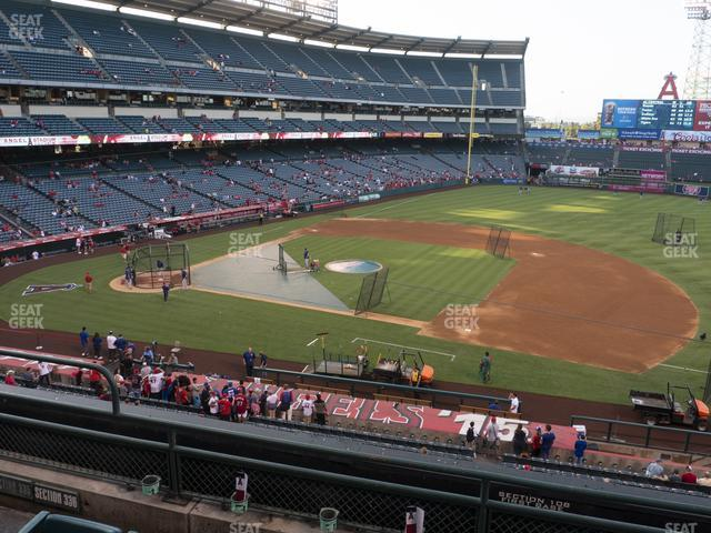Angel Stadium of Anaheim Section 336 view