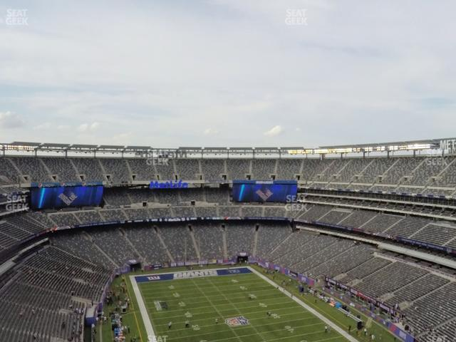 MetLife Stadium Section 329 view