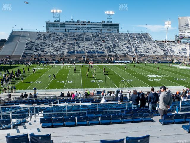 Beaver Stadium Section East E view