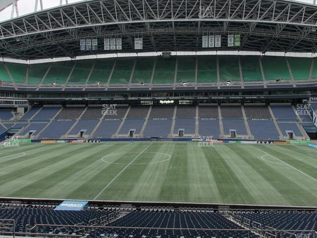CenturyLink Field Section Club 208 view