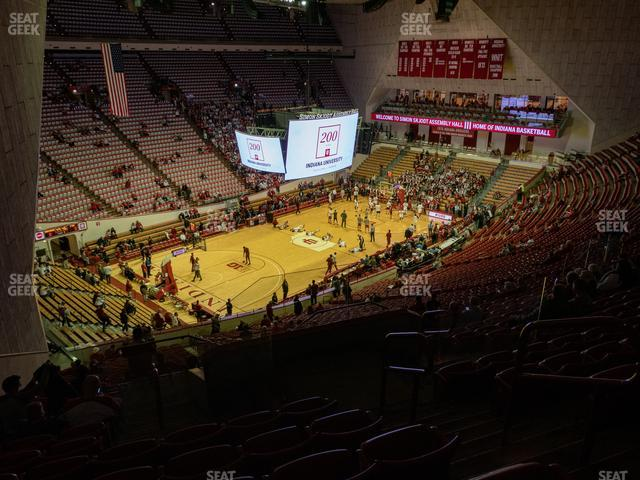 Assembly Hall - IN Section F view