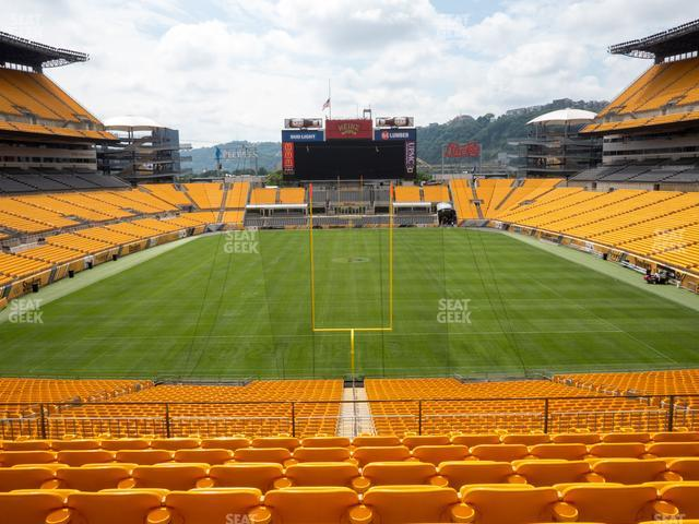 Heinz Field Section 223 view