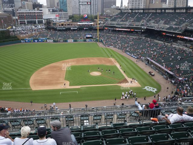 Comerica Park Section 333 view