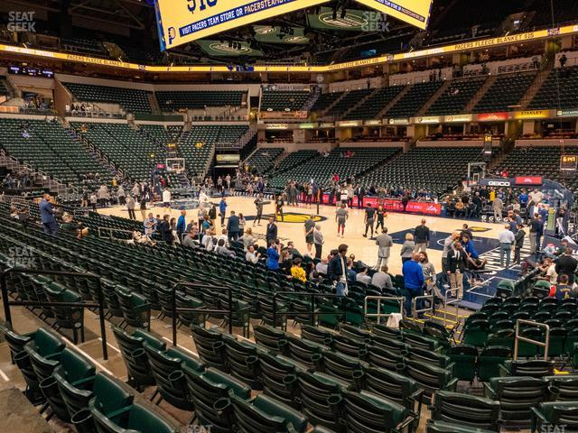 Bankers Life Fieldhouse Section 14 view