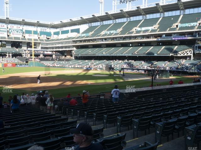 Progressive Field Section 167 view