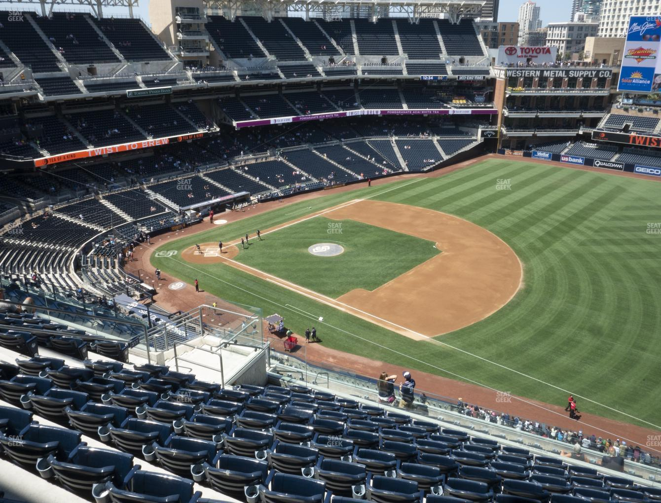 San Diego Padres at Petco Park Section 317 View
