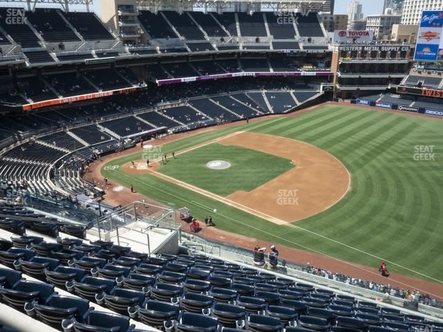 Petco Park Section 317 view