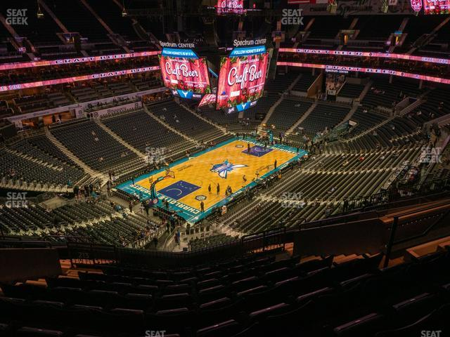 Spectrum Center Section 213 view