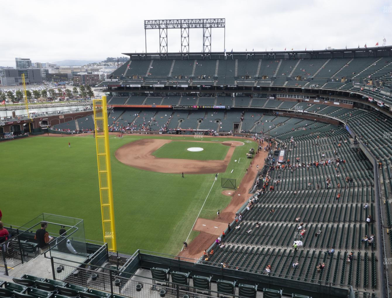 San Francisco Giants at Oracle Park Section 335 View