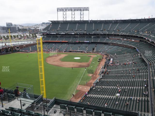 Oracle Park Section 335 view