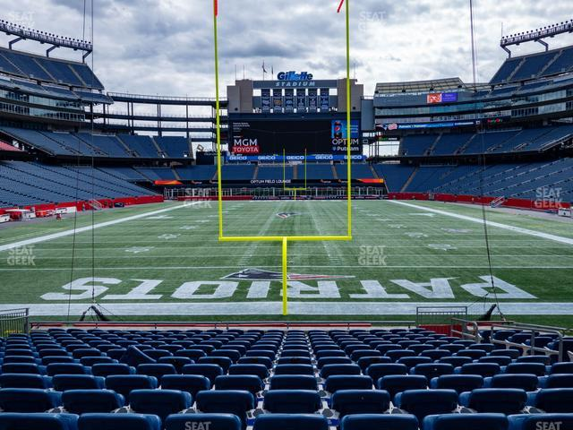 Gillette Stadium Section 143 view