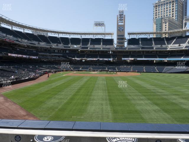 Petco Park Section 131 view