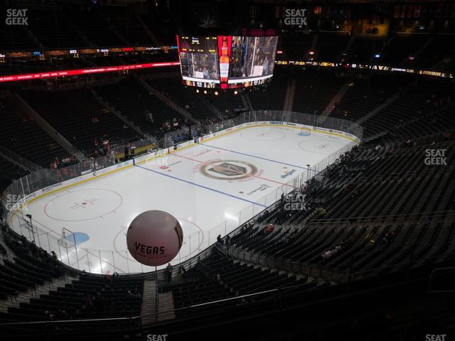 T-Mobile Arena Section 218 view