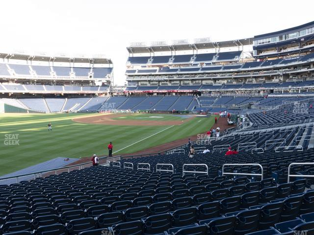 Nationals Park Section 108 view
