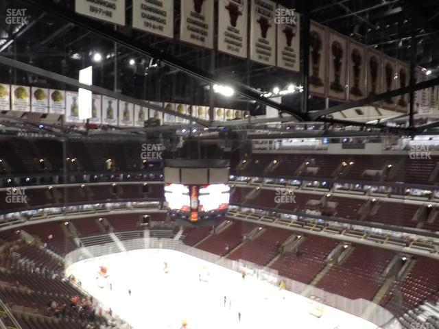 United Center Section 330 view