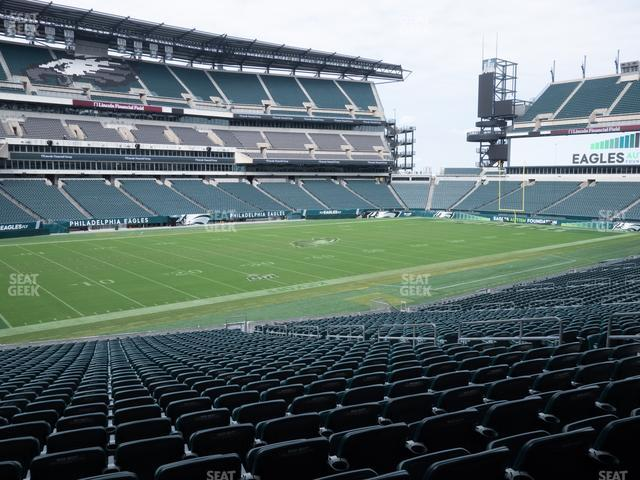 Lincoln Financial Field Section 115 view