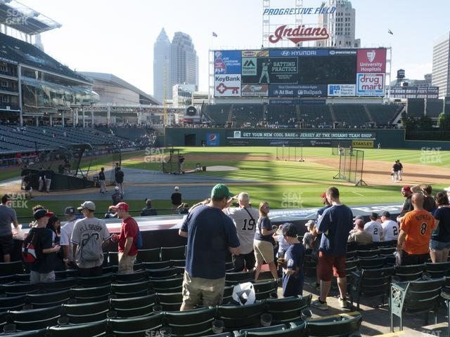 Progressive Field Section 148 view