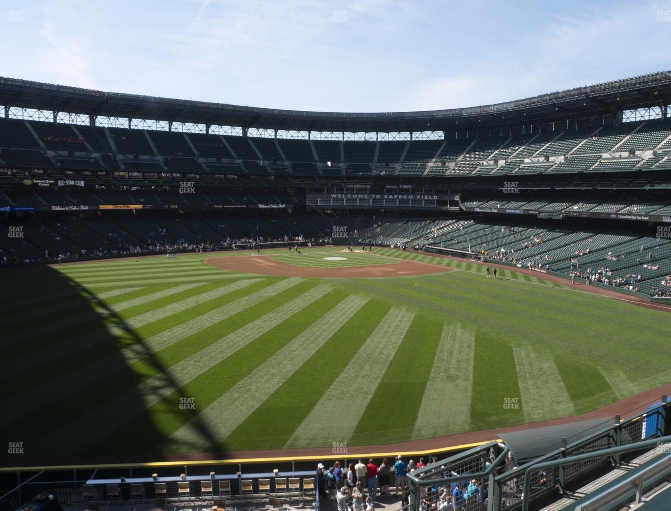 Seattle Mariners at T-Mobile Park Section 187 View
