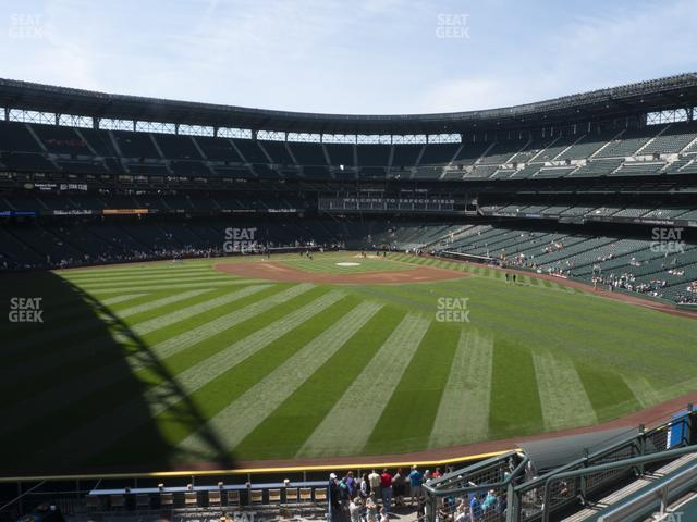 T-Mobile Park Section 187 view