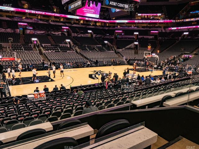 AT&T Center Box 16 view