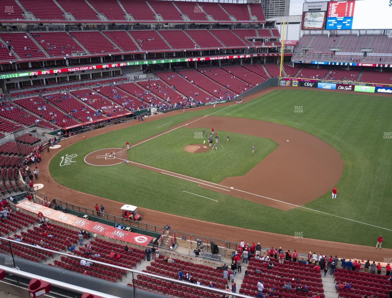 Cincinnati Reds at Great American Ball Park Section 432 View