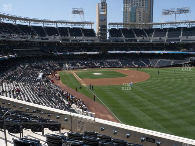 Petco Park Section 223 view