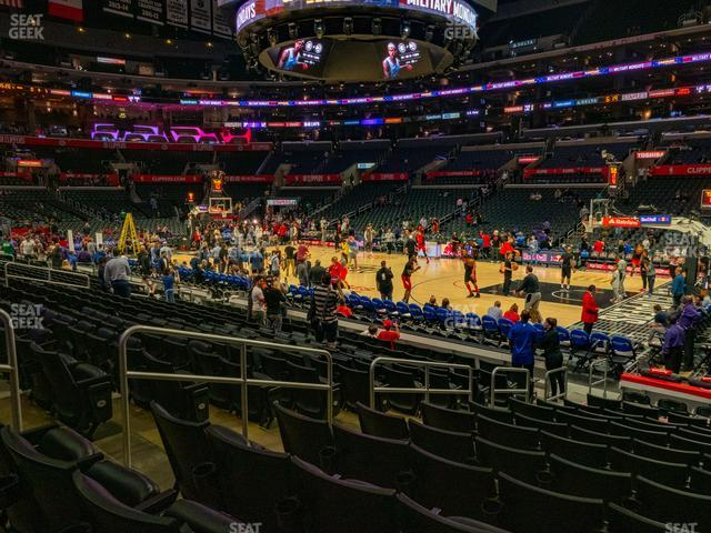 Staples Center Section 109 view