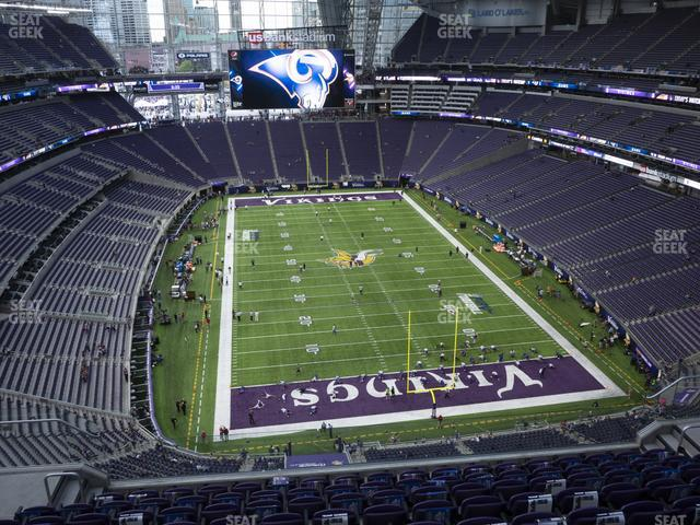 U.S. Bank Stadium Section 328 view