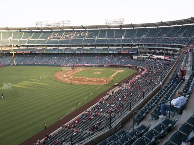 Angel Stadium of Anaheim Section 405 view