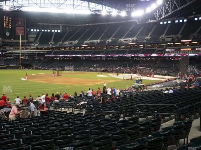 Chase Field Section 132 view